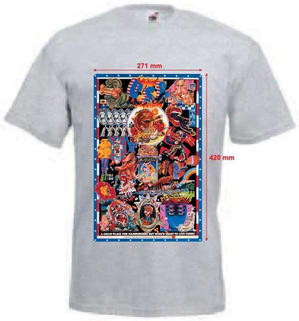 Tričko s potiskem USA 22d8d58815