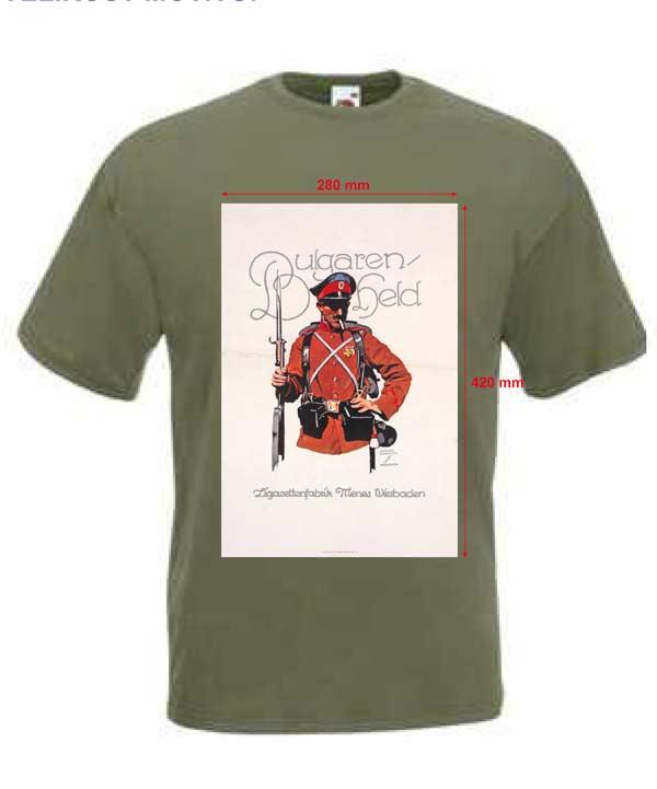 Tričko s potiskem BULGAREN HELD 02d6dc5c9f